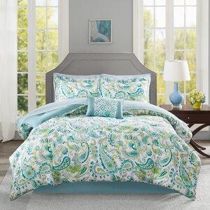 Dewart Complete Comforter and Cotton Sheet Set