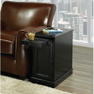 Gustel End Table with Storage