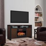 Kinde TV Stand for TVs up to 65 with Electric Fireplace Included by Foundry Select