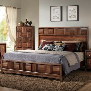 Roundhill Furniture Calais Panel Bed