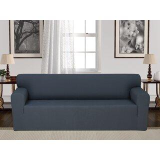 Anti-Slip Spandex Elastic Stretch Box Cushion Sofa Slipcover by Rebrilliant SKU:AB688595 Guide