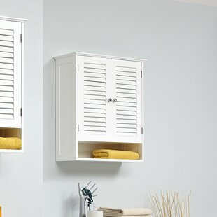 Jasper 60 x 68cm Wall Mounted Cabinet by Quickset