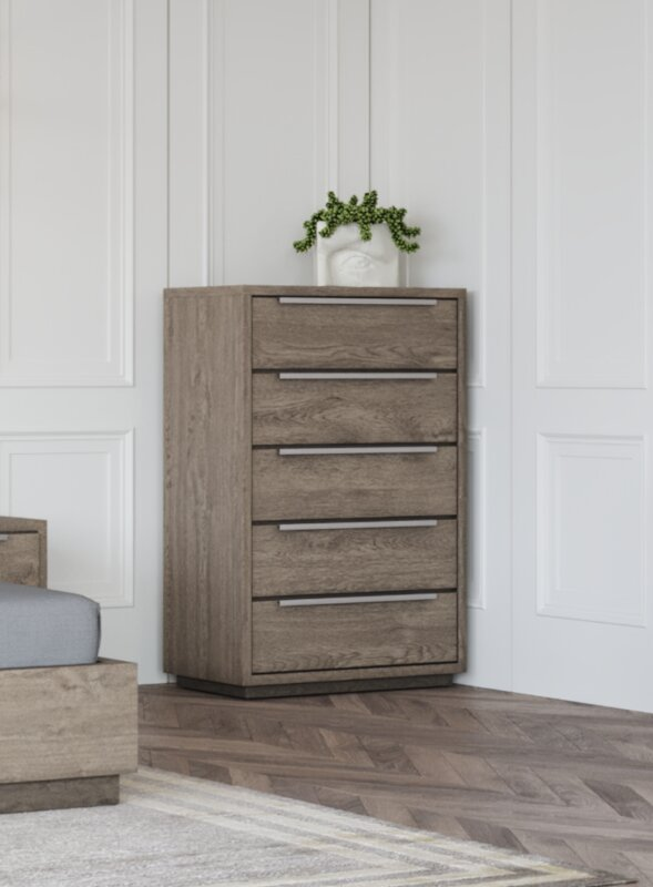 Foundry Select Gauvin 5 Drawer Chest