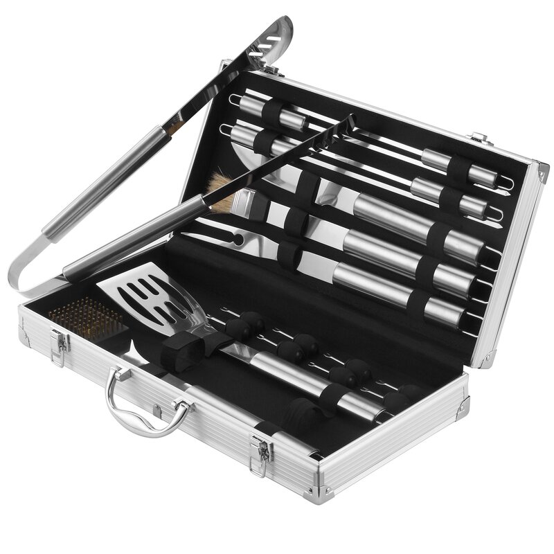 BBQ 18-Piece Grilling Tool Set