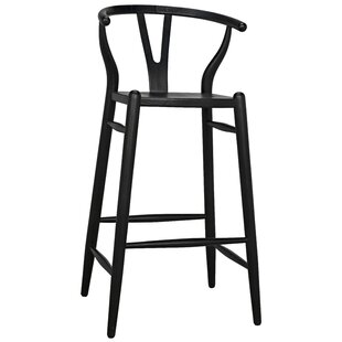 Noir Zola 42'' Bar Stool