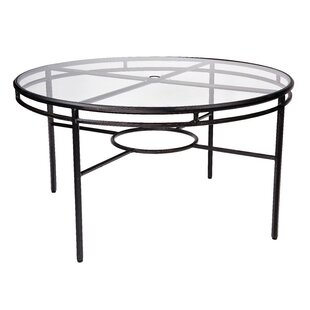 Nob Hill Glass Dining Table by Woodard