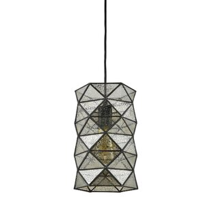 Carolan 1-Light Geometric Pendant by Brayden Studio
