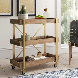 Grenada Bar Cart by Bungalow Rose