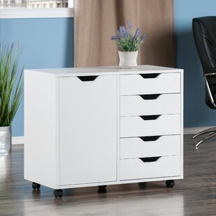 Crandon 5 Drawer Vertical Filing Cabinet
