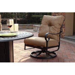 Surprising Carlitos Rocker Swivel Recliner Patio Chair With Cushions Set Of 4 Inzonedesignstudio Interior Chair Design Inzonedesignstudiocom