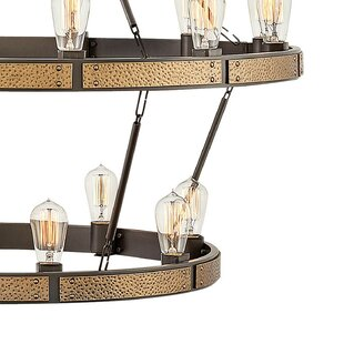 Everett Indoor 20-Light Lantern Chandelie..