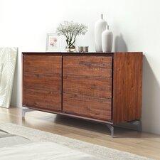 Riggleman 6 Drawer Double Dresser by Brayden Studio