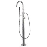 Single Handle Floor Mounted Freestanding Tub Filler by Luxier