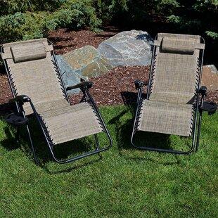 Esperanza Reclining Zero Gravity Chair (Set of 2) by Freeport Park