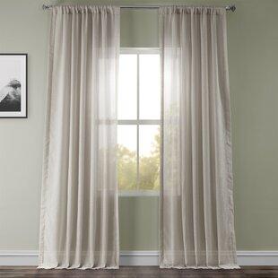 Off White Linen Curtains Joss Main