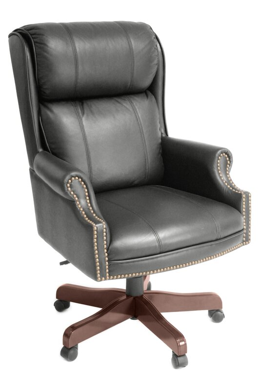 Ivy League High Back Leather Executive Chair