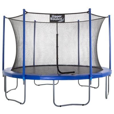 12' Trampoline with Enclosure Upper Bounce