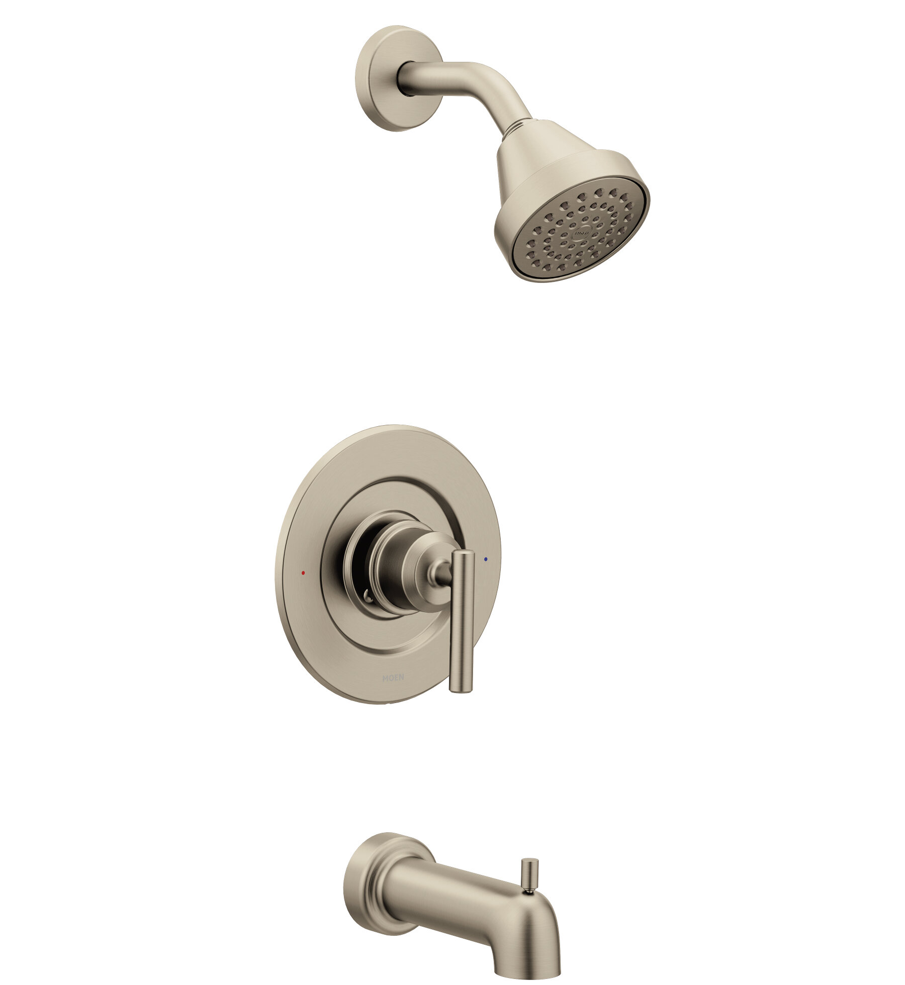 Brushed Nickel Shower Faucets Systems You Ll Love In 2020 Wayfair
