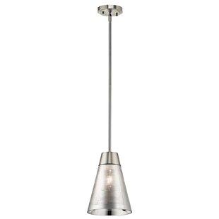 Orren Ellis Cuevas 1-Light Cone Pendant