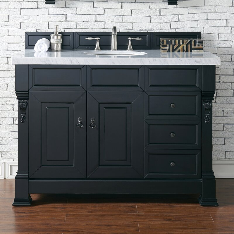 "James Martin Furniture Brookfield 48"" Single Bathroom Vanity Base Only   Wayfair.ca"