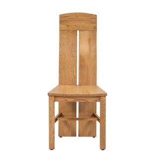 Kiazolu Solid Wood Dining Chair (Set of 2)