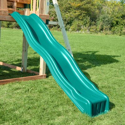 Swing-n-Slide Cool Wave for 4' Deck Colour: Forest Green