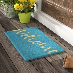 Dunbar Cursive Welcome Doormat by Red Barrel Studio