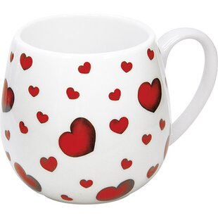Gift for All Occassions Little Hearts Snuggle Mug (Set of 4)