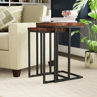 Lineberger 2 Piece Nesting Table Set