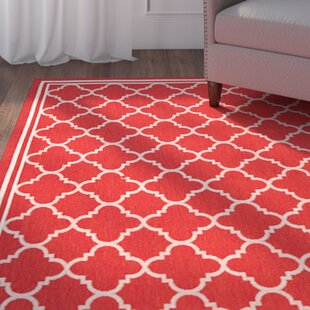 Herefordshire Red Indoor/Outdoor Power Loomed Area Rug