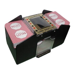 Automatic Four Deck Playing Card Shuffler By Trademark Global