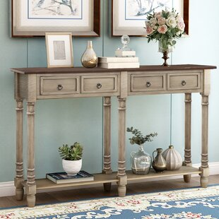 Wortman 58 Solid Wood Console Table