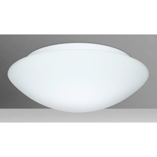 Besa Lighting Nova 2-Light LED Outdoor Flush Mount