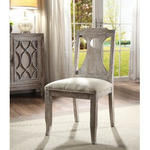 Visser Upholstered Dining Chair (Set of 2) Ophelia & Co.