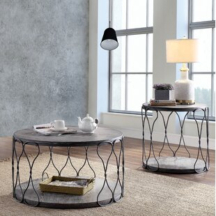 Williston Forge Bodden 2 Piece Coffee Table Set