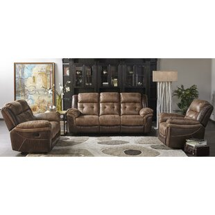 Heider Reclining Configurable Living Room Set