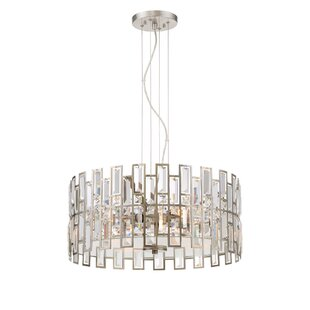 Designers Fountain West 65th 4-Light Crystal Chandelier