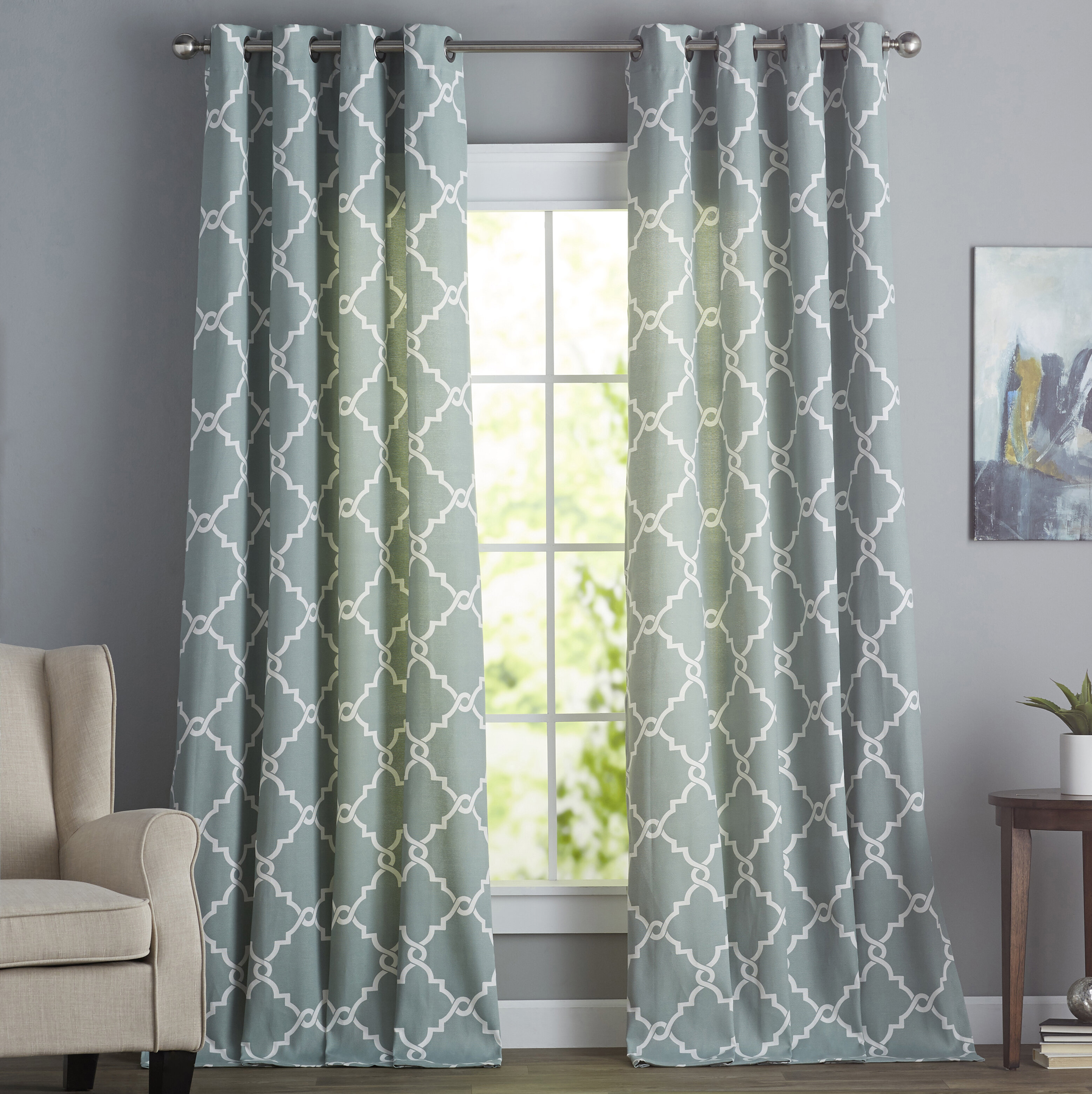 walmart insulated fancy ideas engaging picture blue panels achim at grommet curtain gingham curtains panel com shower sheer blackout rainbow
