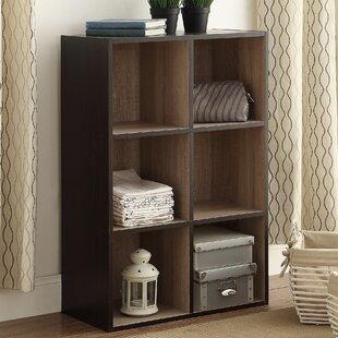 Rebrilliant Two-Tone Organizer Cube Unit Bookcase