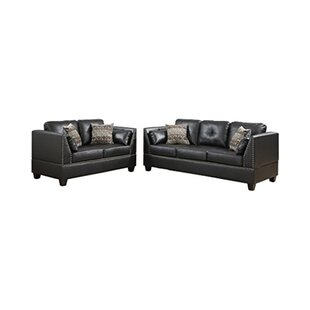 Comparison Esmond 2 Piece Living Room Set by Alcott Hill Reviews (2019) & Buyer's Guide