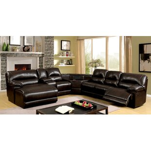 Shop Breanne Reclining Sectional by Winston Porter