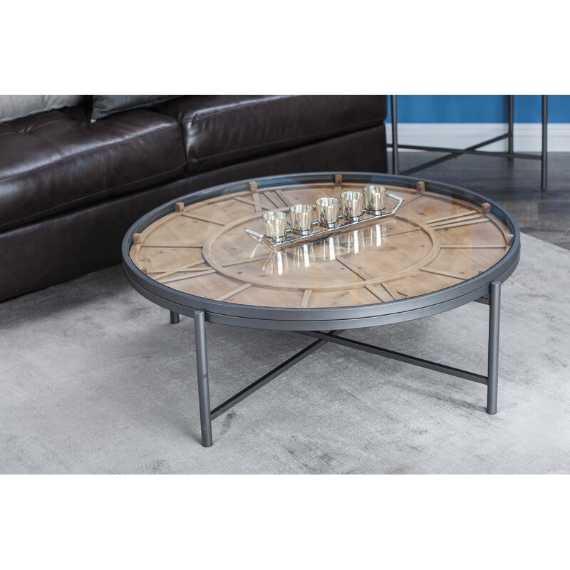 Genial Clock Coffee Table