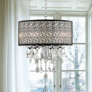 Brownleigh 4-Light Chandelier by Willa Arlo Interiors