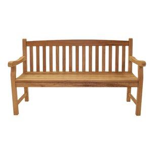 Lamons 3 Seater Teak Garden Bench