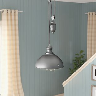Rodriques 1-Light Metal Bowl Pendant by Laurel Foundry Modern Farmhouse