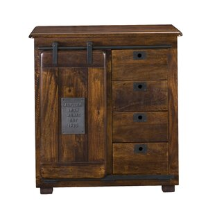 Harbaugh 4 Drawer 1 Door Accent Cabinet