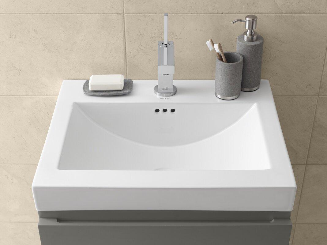 ronbow sinks ronbow ronbow ceramic rectangular vessel bathroom  - ronbow ronbow ceramic rectangular vessel bathroom sink with
