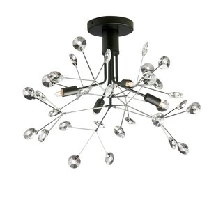 Galaviz 4-Light Semi Flush Mount by Brayden Studio
