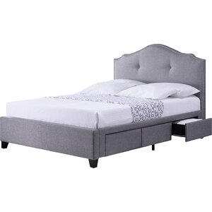 Armeena Upholstered Storage Platform Bed