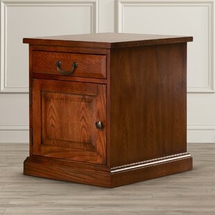 Schueller End Table With Storage By Darby Home Co